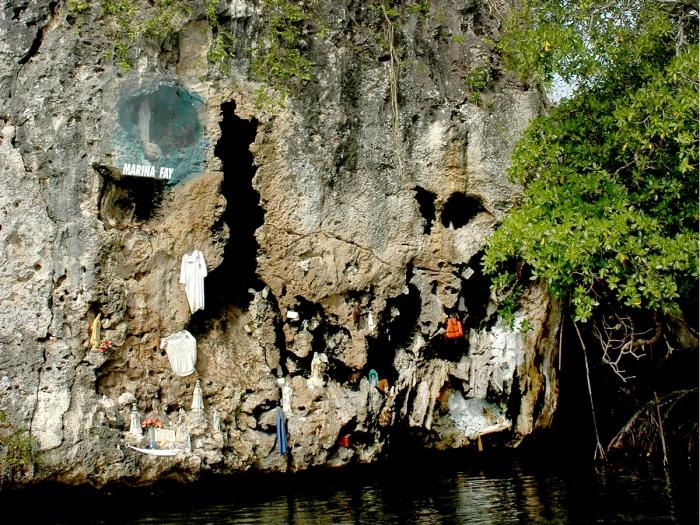 Cueva de la Virgen, Morrocoy