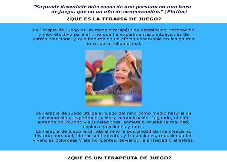 Niños Agresivos Terapia de Juego azul 06