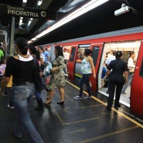 Cerradas 28 estaciones del Metro deCaracas