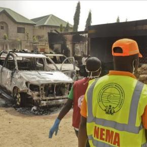 Una fuerte explosión sacude un mercado popular en el norte deNigeria