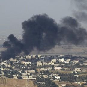 Israel bombardea puntos de territorio de Siria en respuesta y señal de advertencia al lanzamiento de al menos dos cohetes contra los Altos del Golán desde siria porHEZBOLÁ.