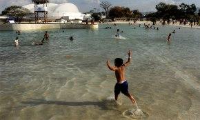 Barquisimeto estrena playa artificial con apoyo del sectorprivado