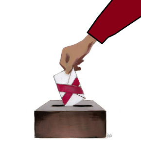 Un voto con mucho miedo alcambio