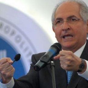 Alcaldes firmaron una declaración que apoya a AntonioLedezma