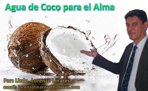 Pendon de Como Agua de Coco
