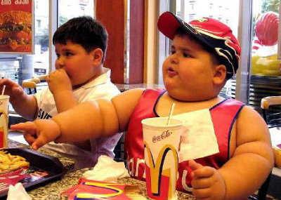 NIÑOS obesidad infantil