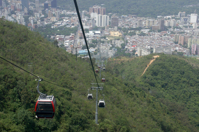 SONY DSCTeleférico del Avila, Waraira Repano, sobre Caracas