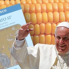 Francisco, el Papa científico, condena sin perdón a los CULTIVOSTRANSGÉNICOS.