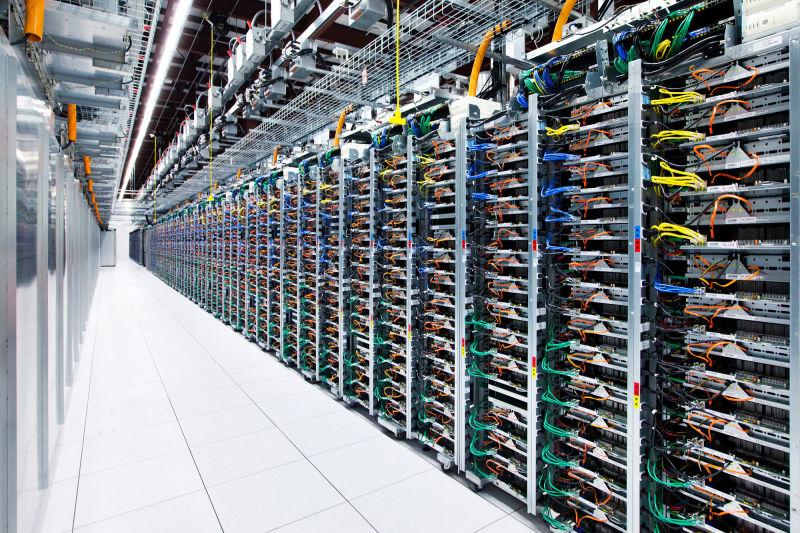 Las granjas de servidores de Google4