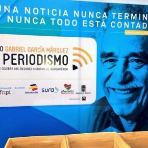 """Convocatoria a concurso premio """"Gabriel García Márquez"""" de Periodismo IVedición."""