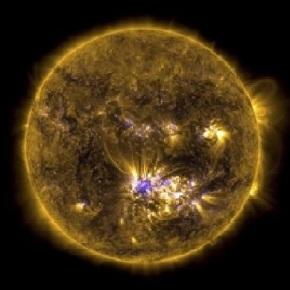 Se reconectan los campos magnéticos de la Tierra y elSol.