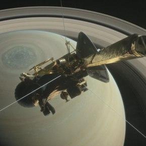 Nave Cassini: por primera vez una sonda se mete entre Saturno y susanillos