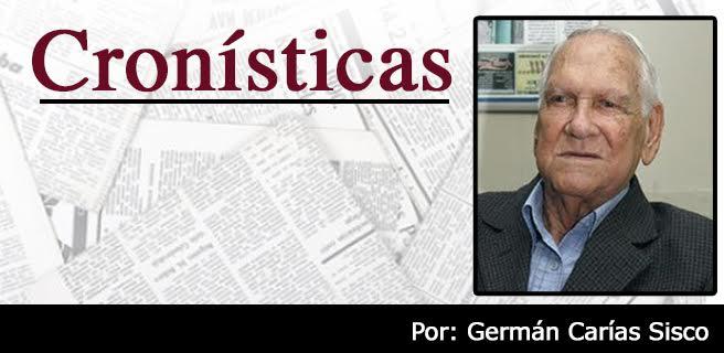 """Germán Carías Sisco: Besos """"en  vivo"""" por celular"""