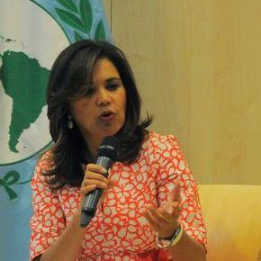 Jefa del Parlatino apuesta por multiplicar espacios de diálogo enVenezuela