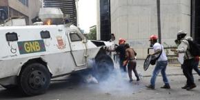 """Venezuela: Por """"Yque"""" constituyente muertos, quemados, heridos ypresos."""