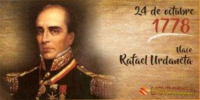 Una mirada a los momentos mas importantes de la vida de RafaelUrdaneta