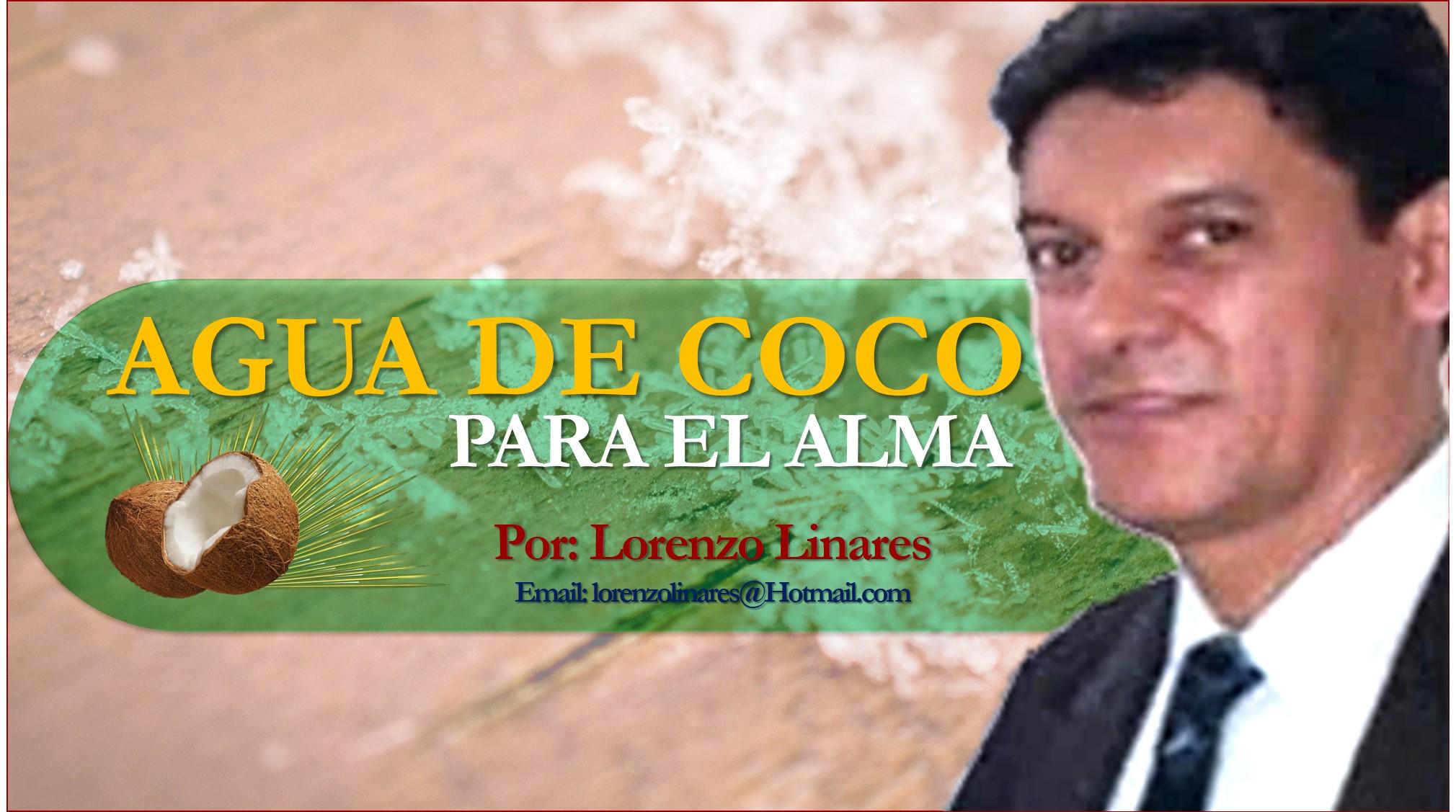 Lorenzo Linares: Un momento de darme un tiempo