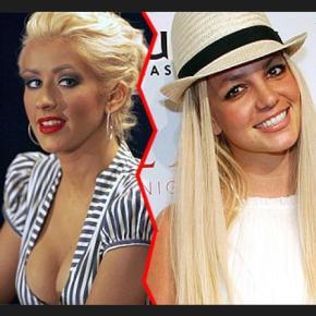 """Así de """"Ricardas"""" eran Britney Spears y ChristinaAguilera"""