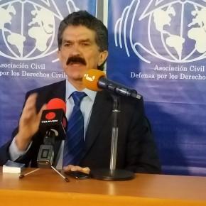 """Rafael Narváez: """"La Cruz Roja debe informar qué tipo de ayuda humanitaria recibió y por qué no ha llegado a los hospitales""""."""