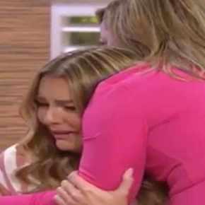 Adamari López impide que Marjorie de Sousa caiga al suelo tras estallar enllanto