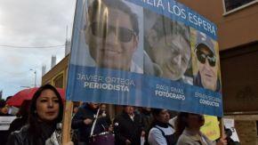 Colombia: qué es el Frente Oliver Sinisterra, el grupo disidente de las FARC  que asesinó al equipo de prensa de El Comercio deEcuador