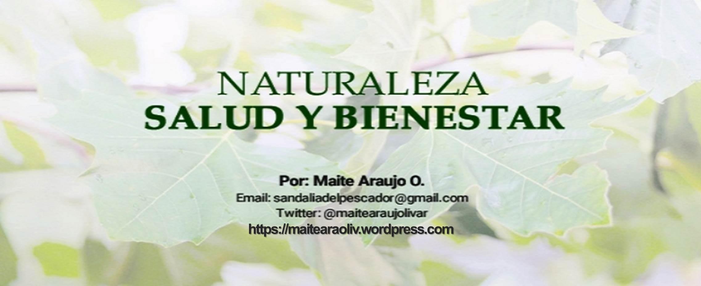 Maite Araujo Olivares: Come despacio y verás maravillosos resultados en tu salud  (+ video)