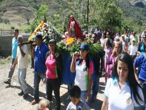 Inició celebración en honor a La Virgen de LaCandelaria