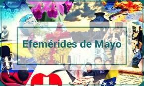 Efemérides de MayoVenezuela