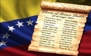 Gloria al Bravo Pueblo cumple 137 años como HimnoNacional