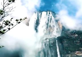 ¡Impresionante! Nuevas cascadas se forman en el SaltoÁngel