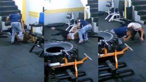 Hombre golpea a su ex novia en un gimnasio deColombia