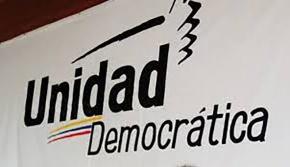 La Mesa de la Unidad Democrática (MUD), certifica sufin