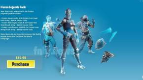 Fortnite: Se filtra el pack Frozen Legends para el Battle Royale