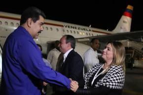 Maduro se encuentra en Cuba para participar en XVI Cumbre delAlba-TCP