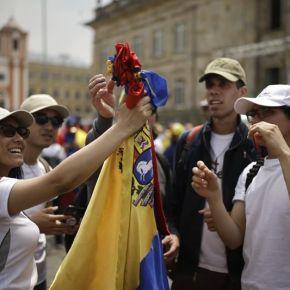 Exiliados y opositores políticos, una sola voz contra Maduro enBogotá