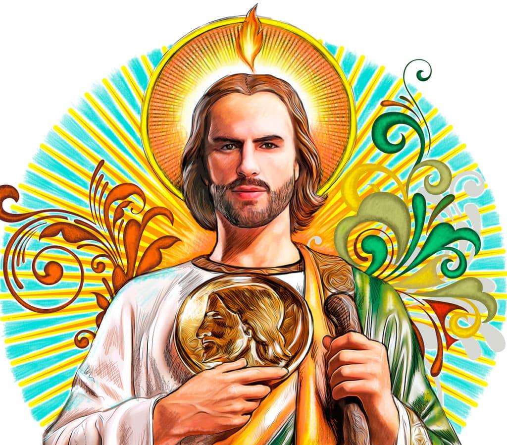 Historia de San Judas Tadeo, Apóstol de Cristo y Mártir glorioso, intercesor de causas perdidas y difíciles.
