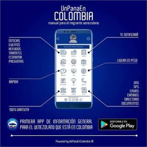 Contactos de 10 ONG´s de venezolanos enColombia