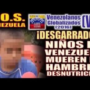 Mortandad infantil sacude a Venezuela por la hambruna: Genocidio infantil del régimen venezolano, culpables de lageneración delhambre